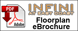 Floorplan eBrochure Download for Infini at East Coast